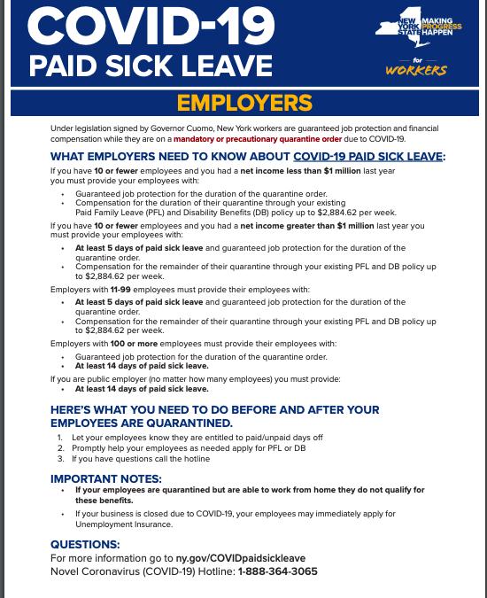 Corona Sick Leave Benefits